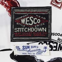 創業100周年を迎えたウエスコ社のために製作される、サンサーフ別注ハワイアンシャツ。-WESCO JAPAN