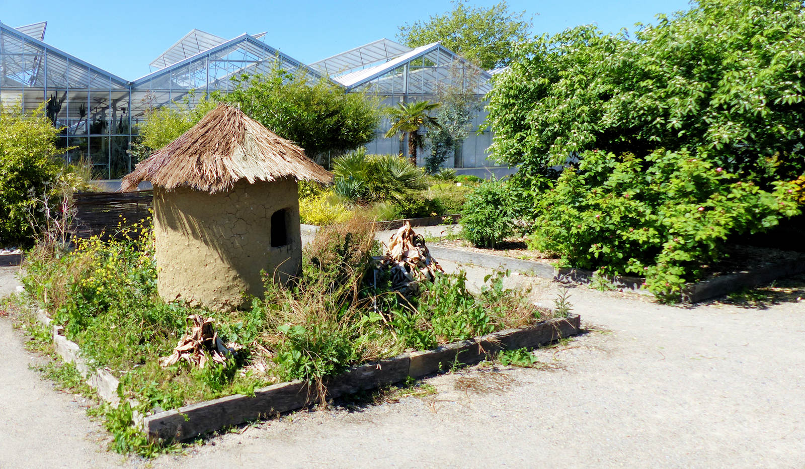 Carrés pédagogiques - Tourcoing, Jardin botanique