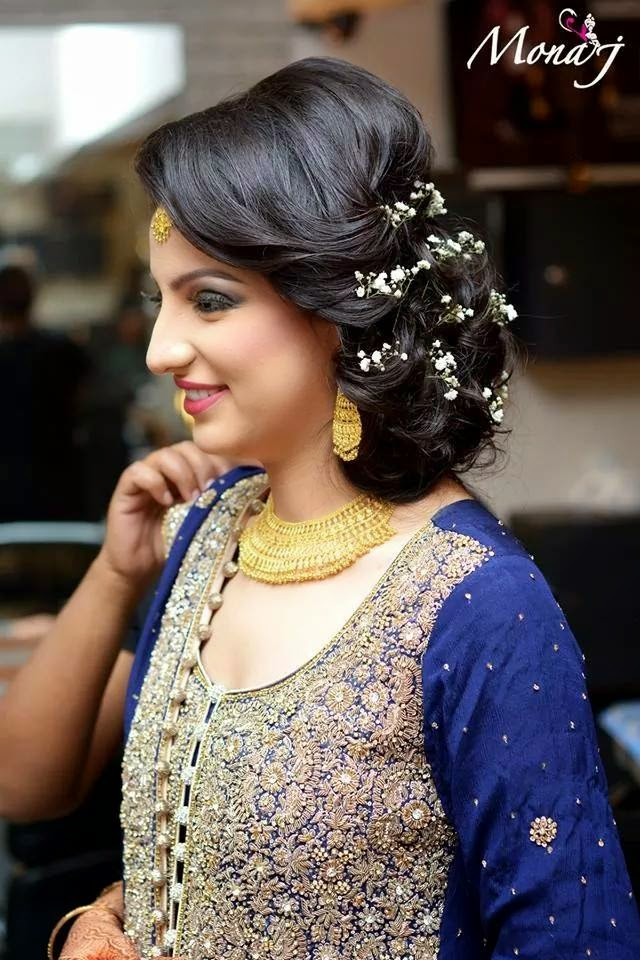 18 Most Popular Hairstyle For Short Hair On Lehenga
