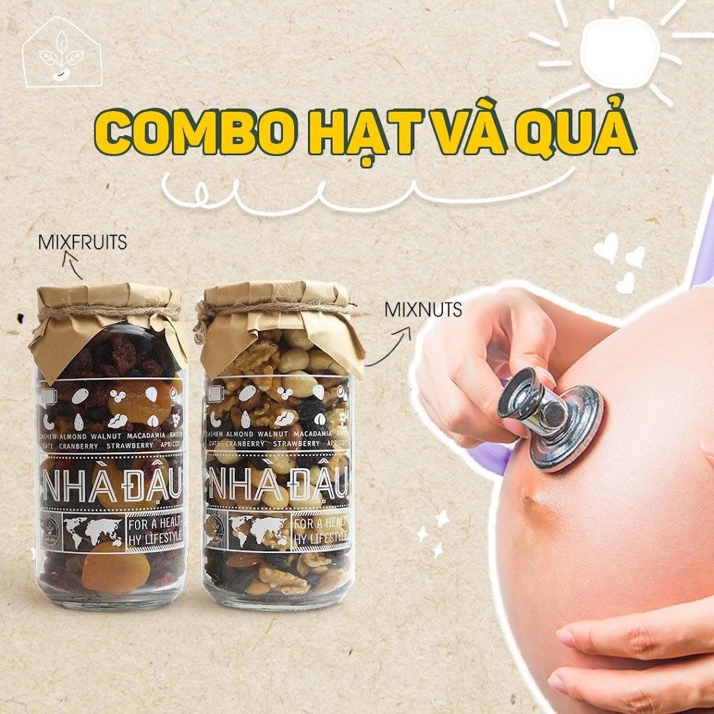 Top 5 loại hạt giúp Mẹ Bầu 8 tháng phòng ngừa thiếu dinh dưỡng