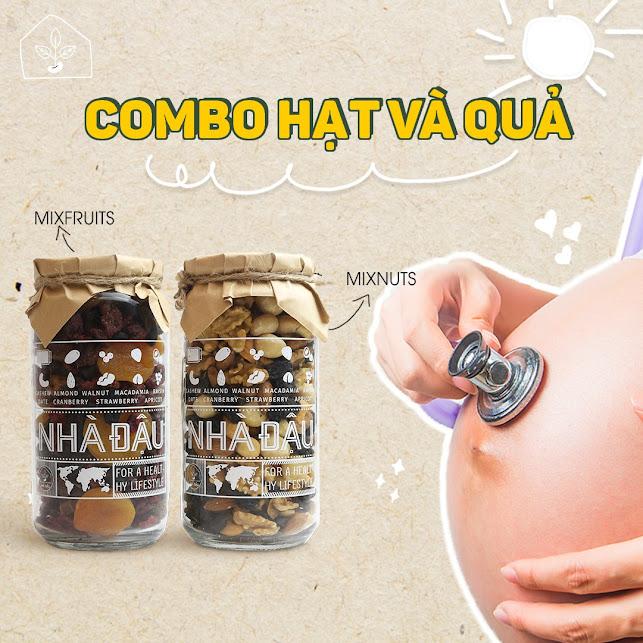 [A36] Mới có thai nên ăn gì tự nhiên, không có chất bảo quản?