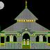 مخطط مشروع مسجد على طريقة الاسيوية 2 اتوكاد dwg