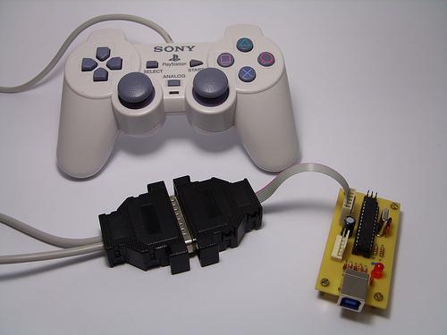 PS2 Controller to USB – Xbox 360 Controller