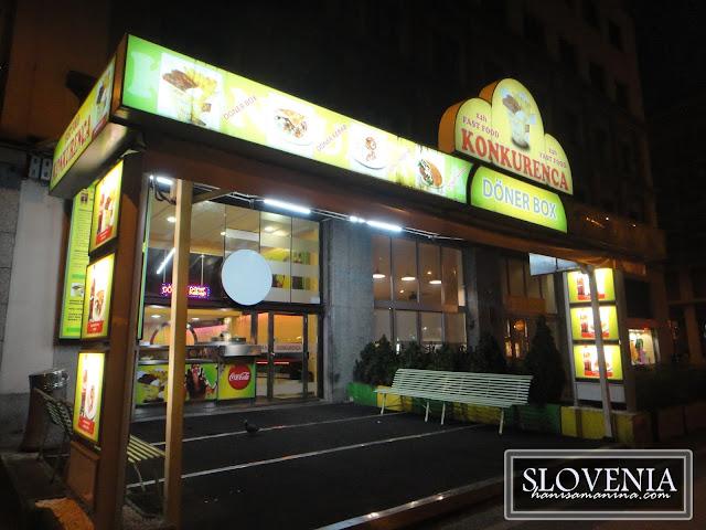 Kedai kebab halal Ljubljana