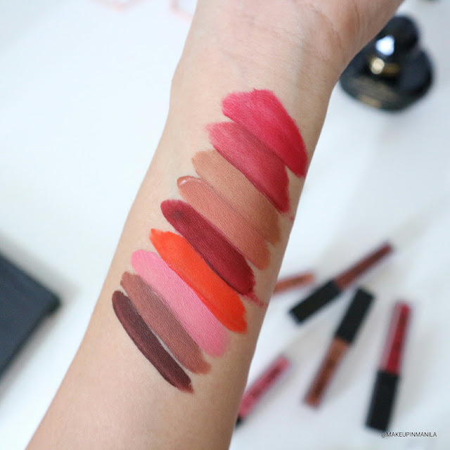 Detail Make Over Matte in Detail Liquid Lipsticks Review Swatch