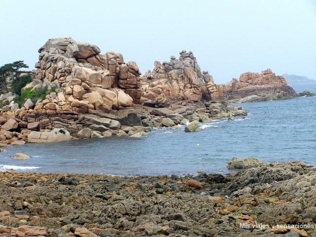 costa de Granito Rosa, Perros Guirec, Bretaña Francesa