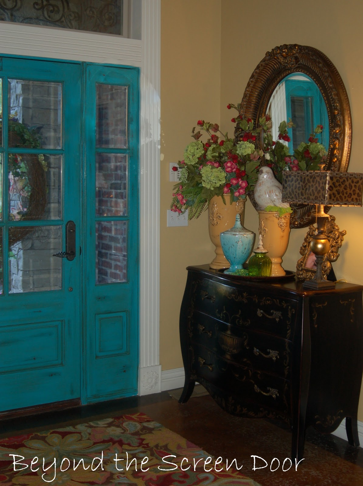 Entry Front Doors: More Turquoise Front Doors