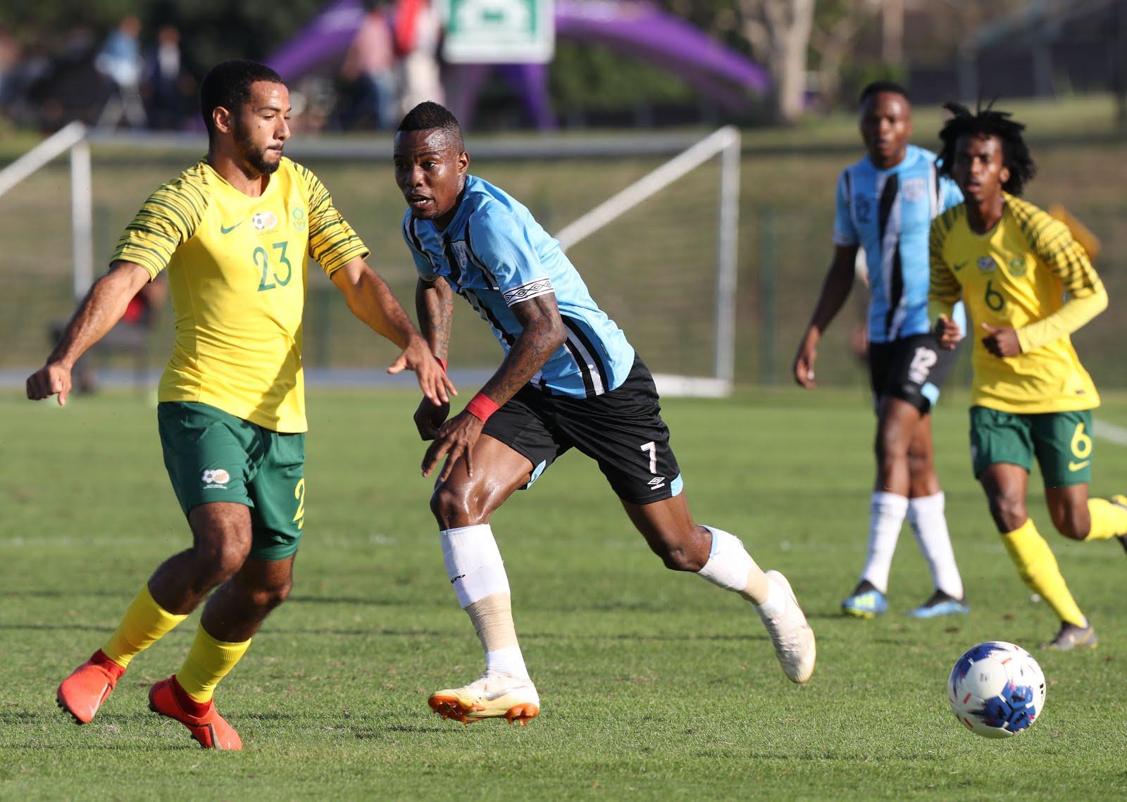 South Africa vs Botswana COSAFA Cup