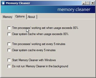 تحميل وشرح برنامج Memory Cleaner لتسريع ذاكرة ومعالج الكمبيوتر