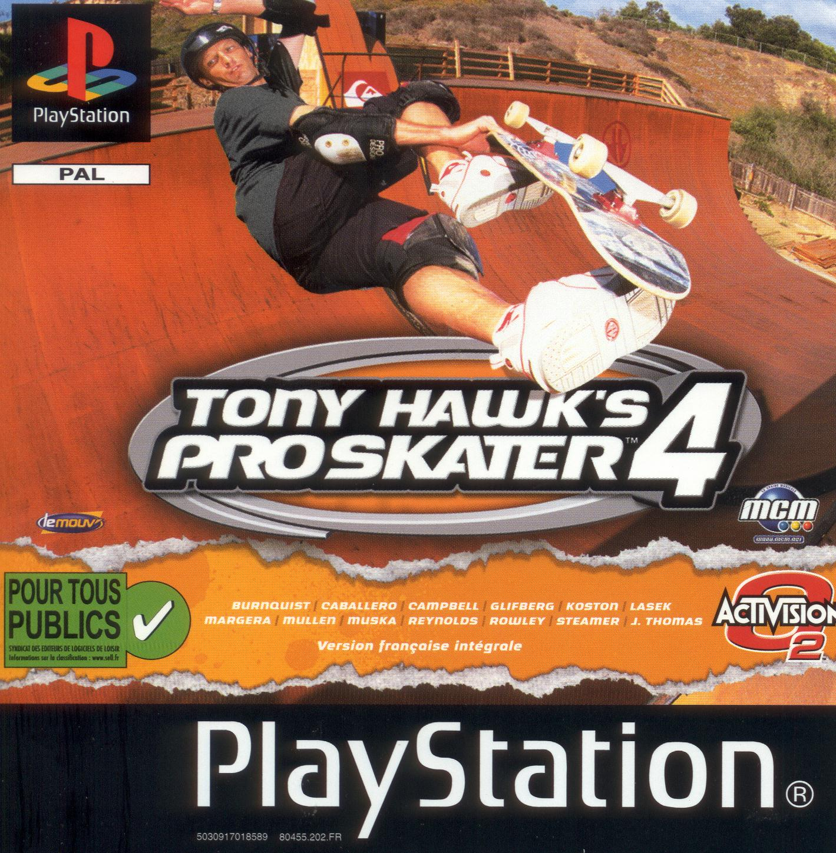 Tony Hawk's Pro Skater 4 - Ps1