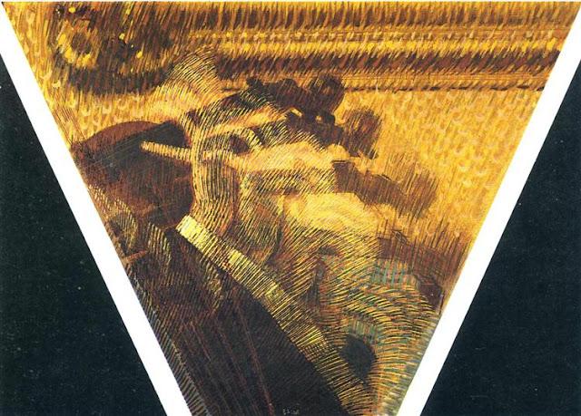 Giaccomo Balla - La mano del violinista [I ritmi dell'archetto] - 1912