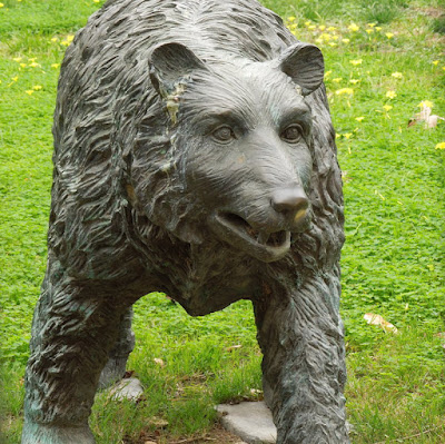 Get a Bear Statue for Your Lawn or Garden