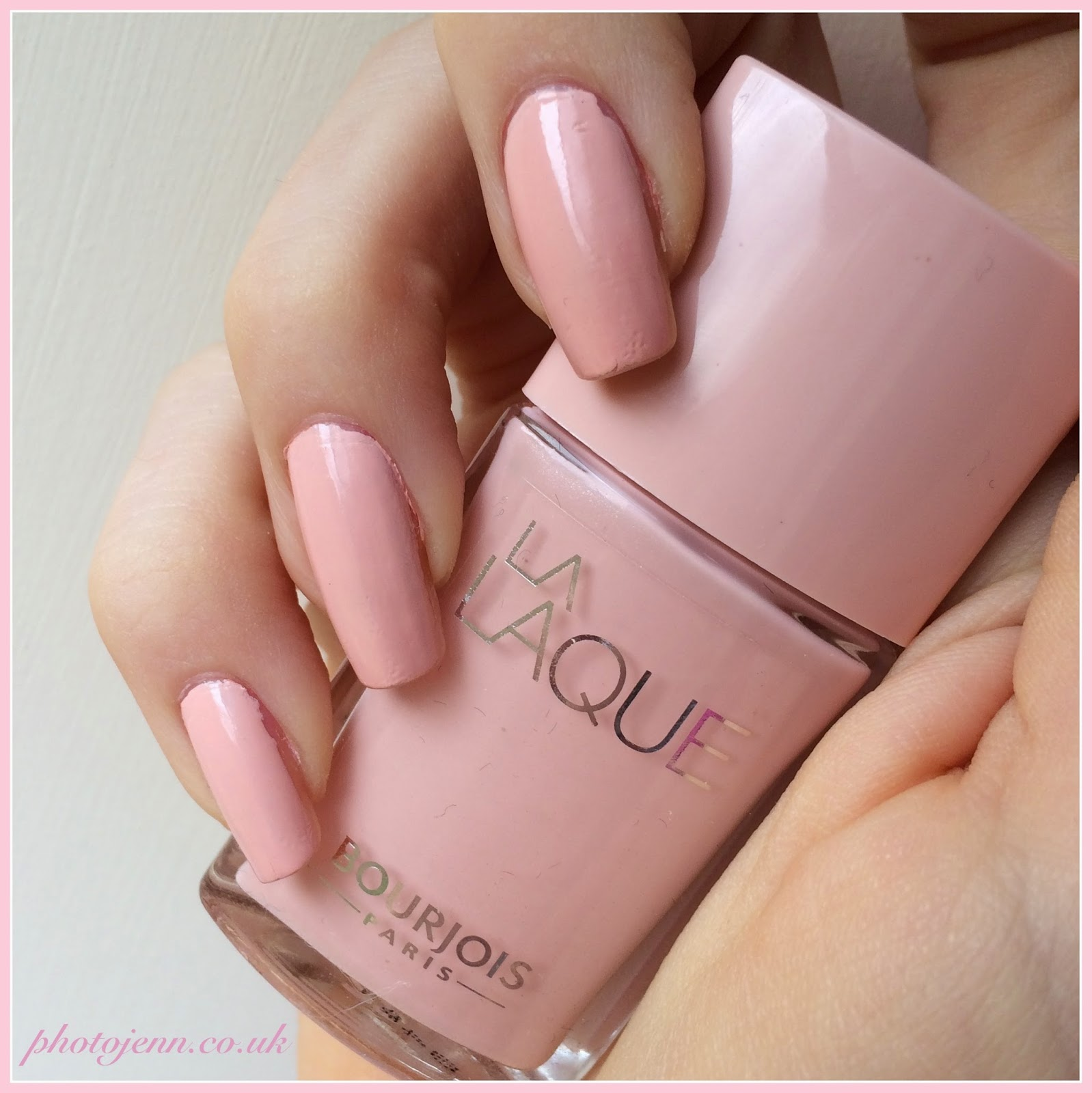 Photo Jenn Ic New Bourjois La Laque Nail Enamel Review And Swatches