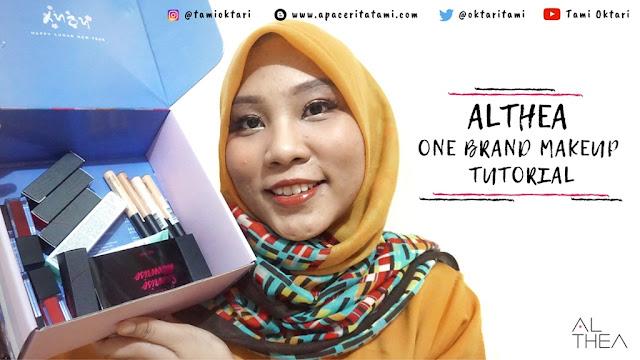 Althea Makeup Tutorial by Tami Oktari