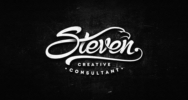 Trend Desain Logo 2016 - Calligraphy Logo Design