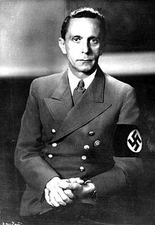 Goebbels era un aficionado al lado de esta gente y Juaquín Torra