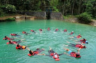 Formasi Lingkaran body rafting citumang