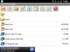 androzip How to Open and Create RAR Files on Android Device Apps