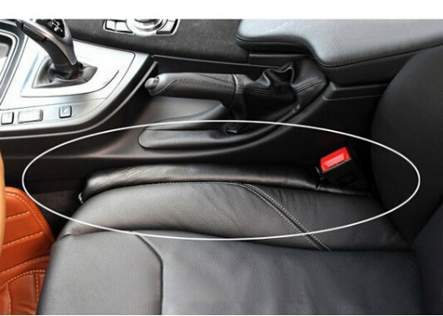 Jual Car Seat Gap Polos Hitam Bahan Kulit Sintetis