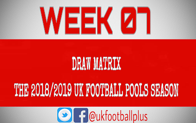 Football pools draw matrix