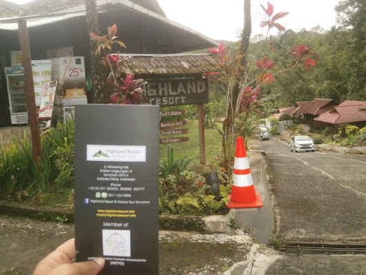 highland resort and sp tomohon
