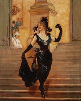 Le Bal Costumé, Fanny Caillé