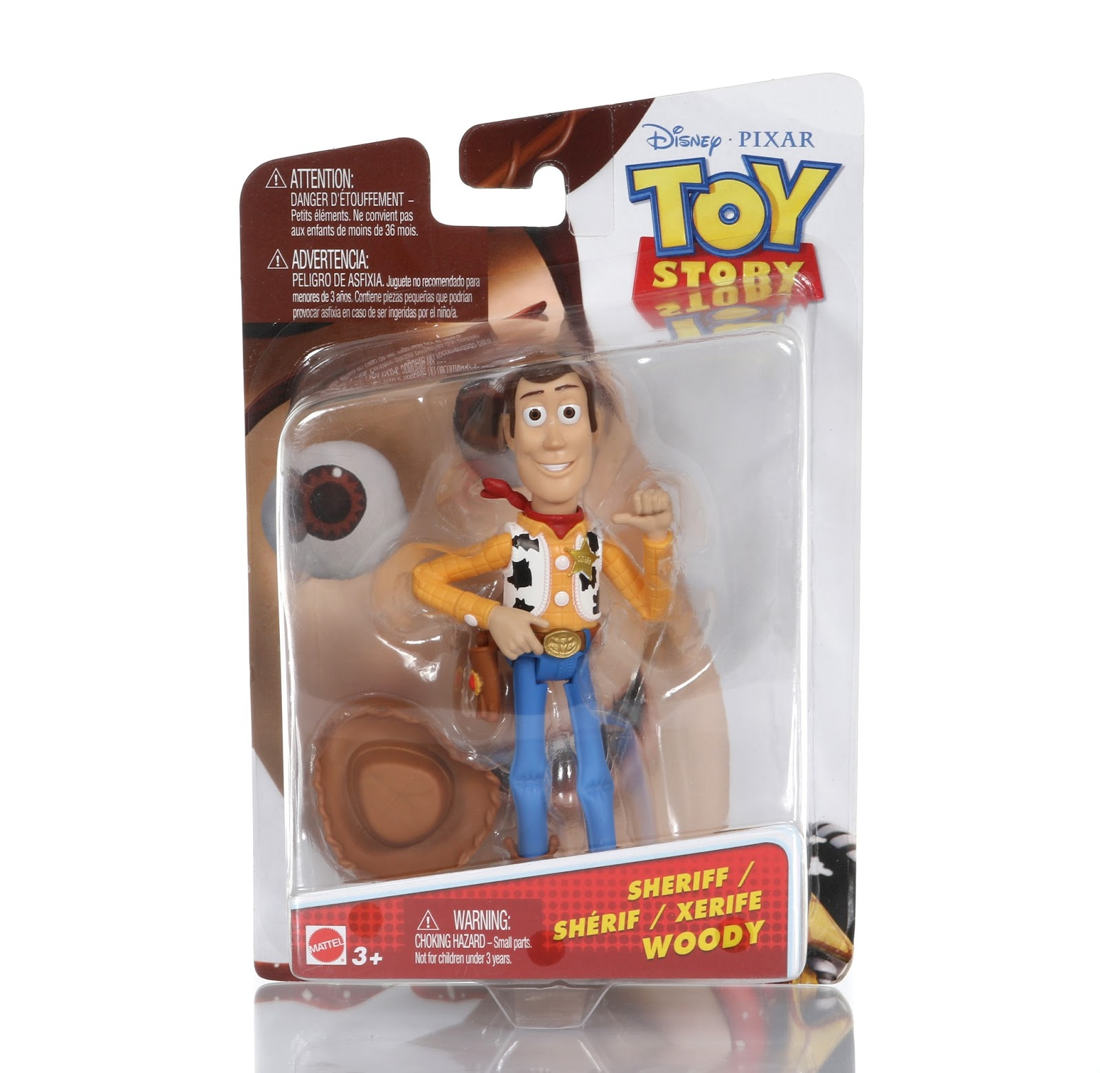 toy story sheriff woody figure mattel