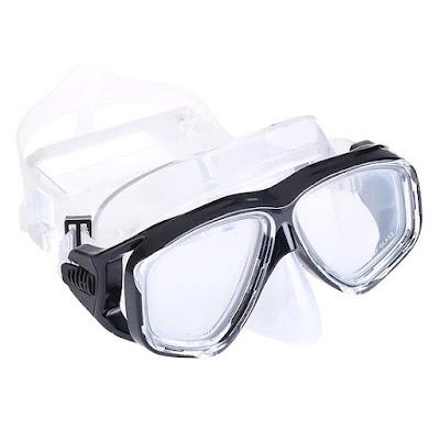 Kính lặn mắt kính cường lực cao cấp POPO