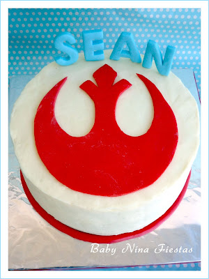 tarta star wars alianza rebelde