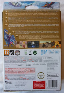 The Legend Of Zelda - Skyward Sword - Caja cartón detrás