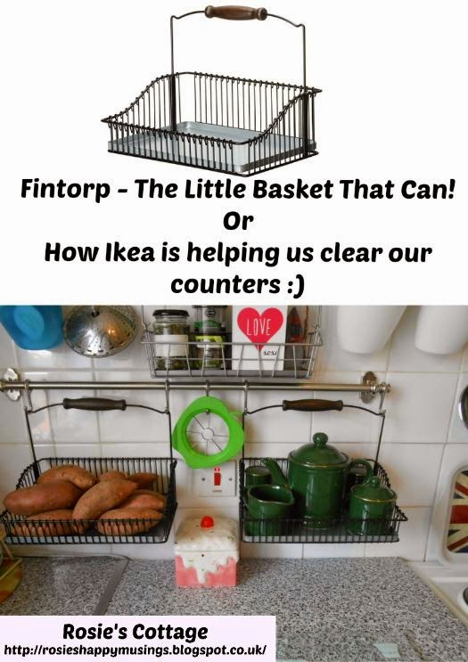 Ikea Fintorp- The secret to clear counters