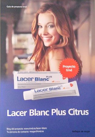 Dientes blancos con Lacer Blanc Plus Citrus