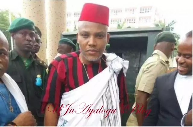 Anti-Igbo Song: Kanu orders  Igbos to Leave the  North now