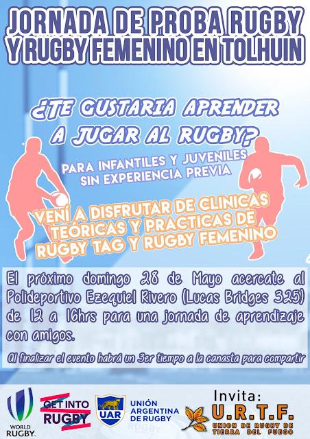 Clinica de Rugby TAG y Rugby Femenino en Tolhuin