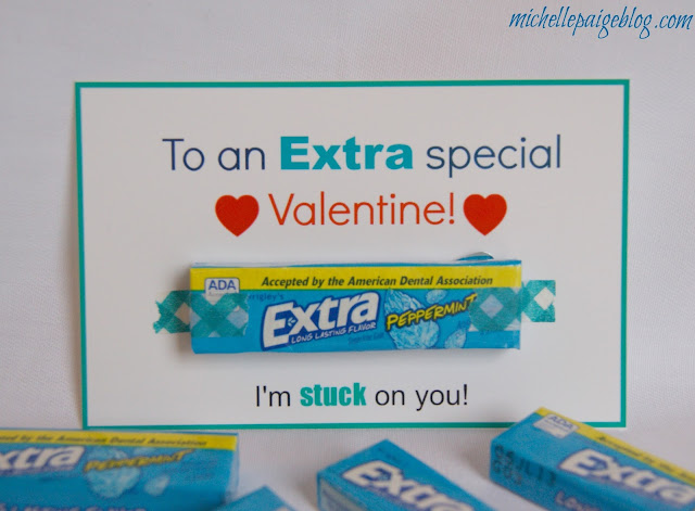 image about Extra Gum Valentine Printable identify mice paige weblogs: Printable Gum Valentines