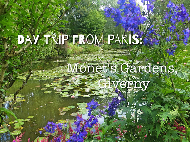 Paris Day Trip, Monet's Garden, Giverny