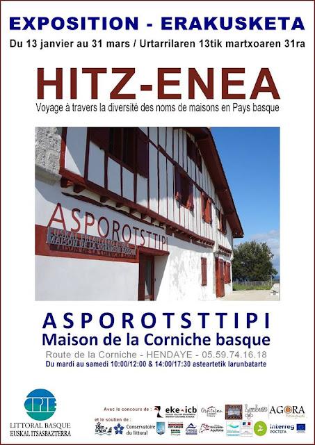 HITZ-ENEA exposition Hendaye 2018 Pays Basque
