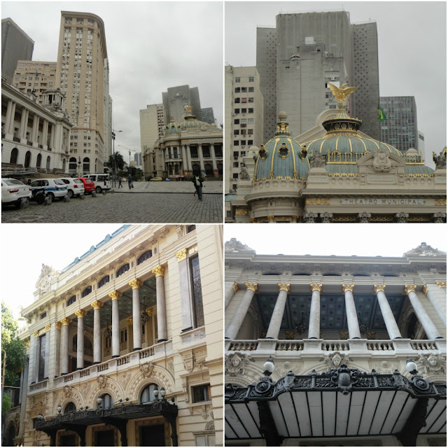 Atrações Históricas no centro do Rio de Janeiro - Theatro Municipal do Rio de Janeiro