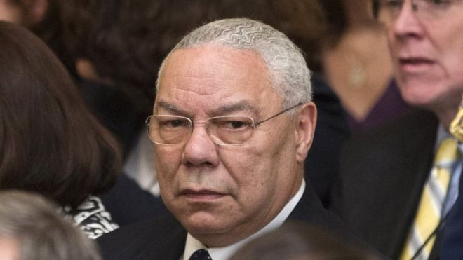 Colin Powell calls Trump 'national disgrace' in email leak