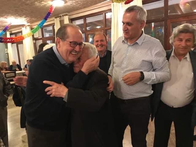 Ο υποψήφιος Περιφερειάρχης Πελοποννήσου Παναγιώτης Νίκας στο Καλό Νερό