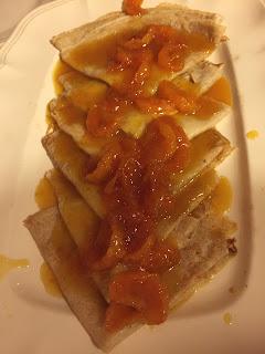 Appetit Voyage Clementine Crepes Suzette