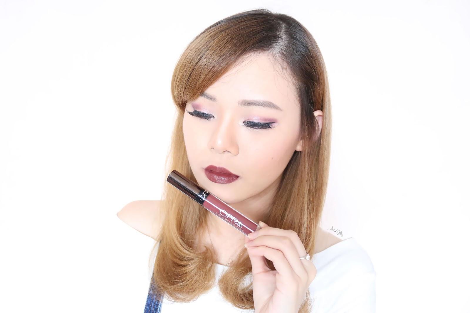 ofra x manny, ofraxmanny, ofra manny, ofra x manny mua, ofra, ofra cosmetics, ofra liquid lipstick, liquid lipstick, product review, swatches, beauty blog, ofra hypno
