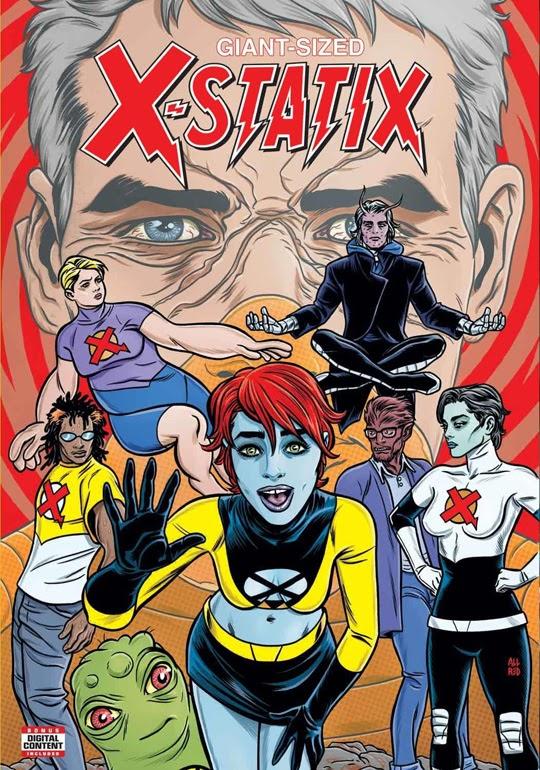 b5711082c ... Mike e Laura Allred se reúnem para um novo capítulo de X-Táticos
