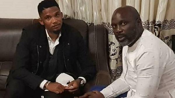 Samuel Eto'o au Liberia pour assister à l'investiture du président élu George Weah