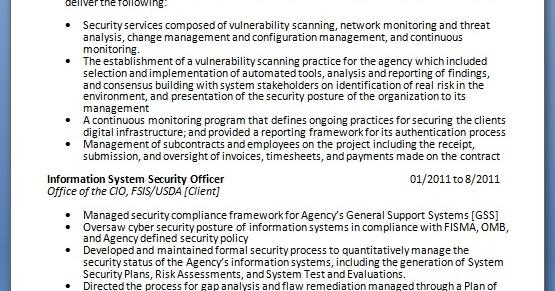 cv consultant cybersecurite pdf