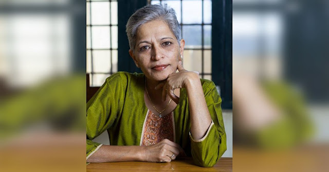gauri-lankesh-to-posthumously-get-anna-politkovskaya-award-of-journalism