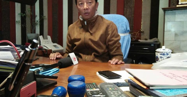GTA Chairmen Binay Tamang
