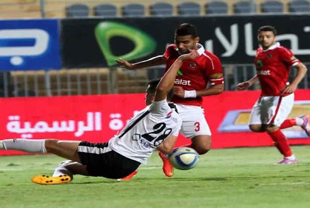 انتهت مباراة الأهلي وطلائع الجيش اليوم 10-9-2017 بالتعادل في الدوري المصري