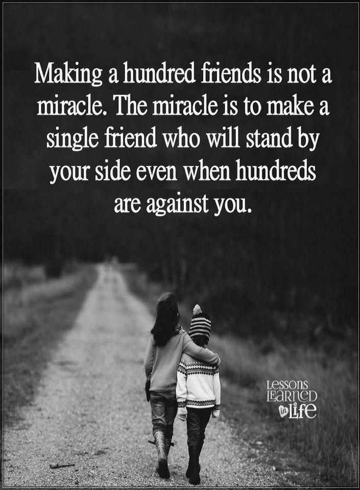 Friendship Quotes Making a hundred friends is not a