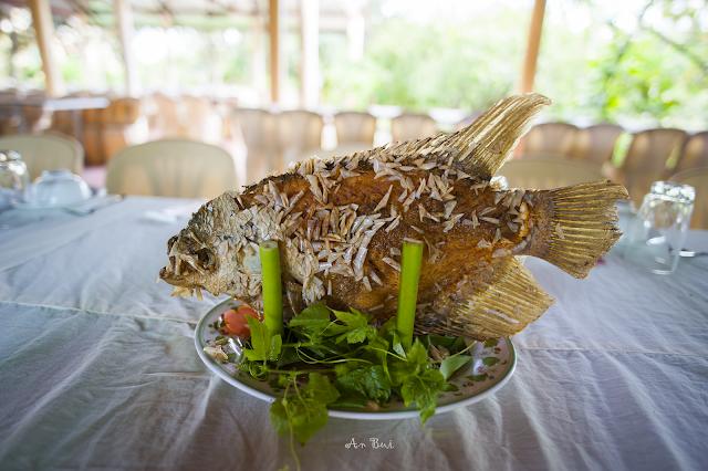 Cá chép chiên xù, đặc sản miền tây